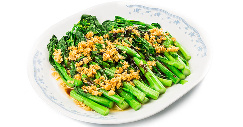 Choy Sum the Heart of vegetables